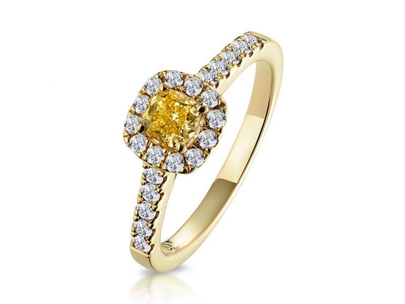 Single-halo-ring