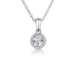 Round-diamond-necklace