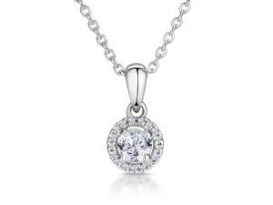 Round-diamond-necklace