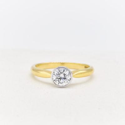 Pennie Diamond Ring